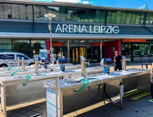 Umbau der Schanktechnik Arena Leipzig